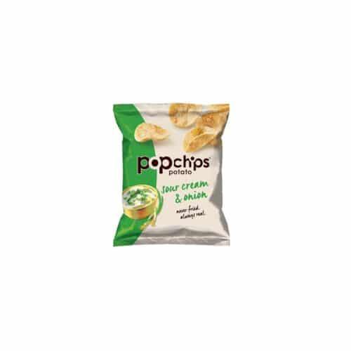 Popchips Potato Chips Small Sour Cream & Onion (A6)