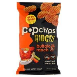Popchips Ridges Large Buffalo Ranch