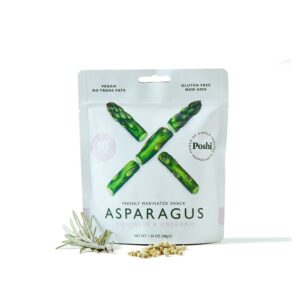 Poshi Marinated Snack Asparagus Rosemary & Oregano