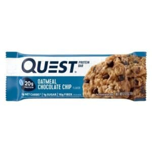 Quest Protein Bar Oatmeal Chocolate Chips