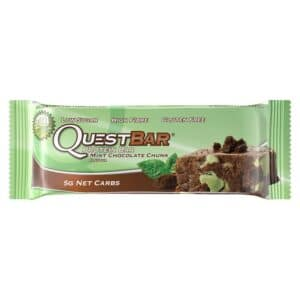 Quest Protein Bar Mint Chocolate Chunk