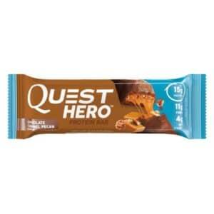 Quest Protein Bar Hero Chocolate Caramel Pecan