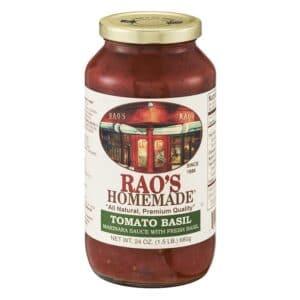 Raos Sauce Tomato Basil