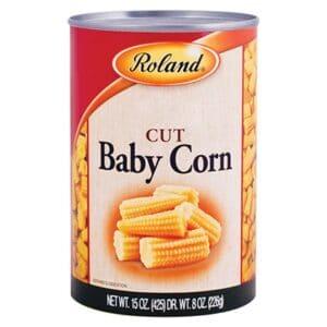 Roland Cut Baby Corn  (45106)