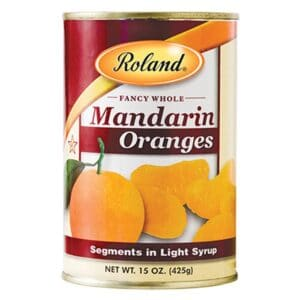 Roland Mandarin Oranges Segments in Light Syrup [64020]