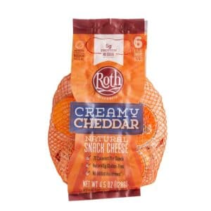 Roth Creamy Cheddar Snack Cheese