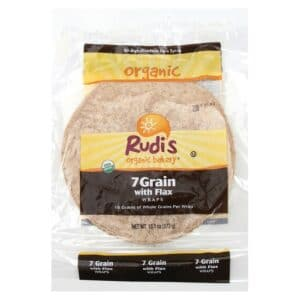 Rudis Organic 7 Grain with Flax Wraps [12/6ct]
