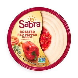 Sabra Hummus Roasted Red Pepper (12 pc)