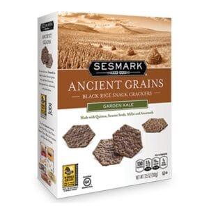 Sesmark Ancient Grains - Black Rice - Garden Kale