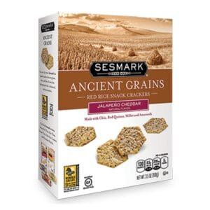 Sesmark Ancient Grains - Red Rice - Jalapeno Cheddar