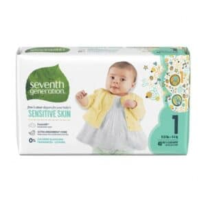 Seventh Generation Free & Clear Baby Diapers, Stage1