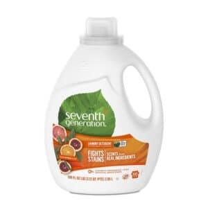 Seventh Generation Laundry Detergent - fresh Citrus Breeze (100 oz)
