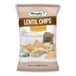 Simply 7 Lentil Chips White