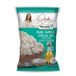 Simply 7 Giada Popcorn Sea Salt Olive Oil