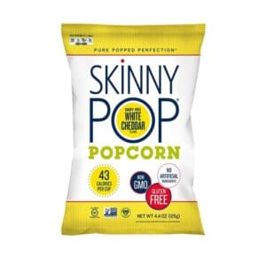 SkinnyPop Ultra Lite  White Cheddar (12/4.4oz)