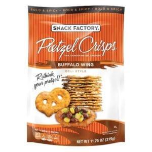 Snack Factory Pretzel Crisps Buffalo Wing (12/7.20 oz)