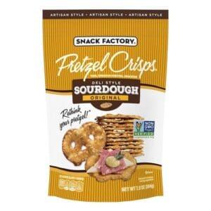 Snack Factory Pretzel Crisps Sourdough Original