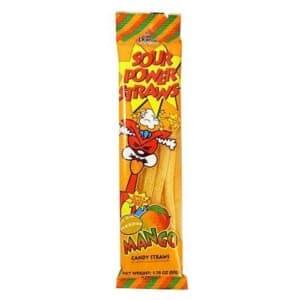 Sour Power Straws Mango