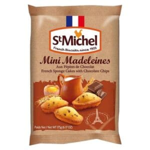 St Michel Madeleines Mini w/Chocolate Chips(12/6.17oz)