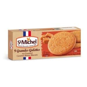 St Michel Grandes Galettes Butter Cookies Caramel(12/5.29oz)