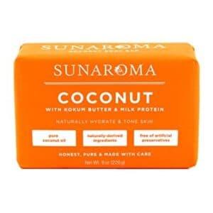 Sunaroma Bar Soap Coconut Oil