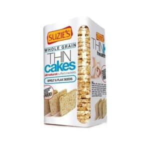Suzies Organic Thin Cakes Spelt & Flaxseeds