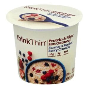 Think Thin Hot Oatmeal Berry Crumble (6/1.76 oz)