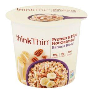 Think Thin Hot Oatmeal Banana Bread (6/1.76 oz)