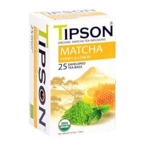 Tipson Org. Matcha Tea  Honey & Lemon