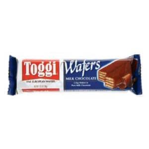 Toggi Fine European Wafers Milk Chocolate (24/1.75oz)