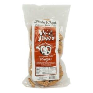 Uncle Jerrys Whole Wheat Sesame Low Salt (