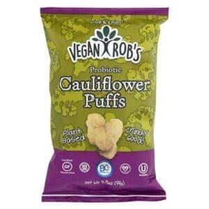 Vegan Rob's Probiotic Puffs Cauliflower