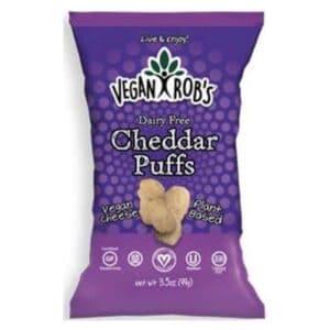 Vegan Rob's Dairy Free Puffs Cheddar