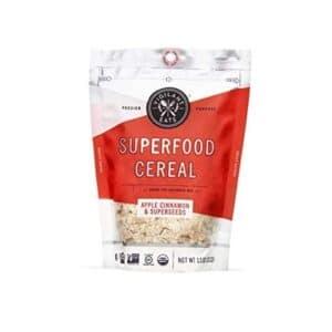 Vigilant Eats Org. Superfood Cereal Bags Apple Cinnamon & Superseeds