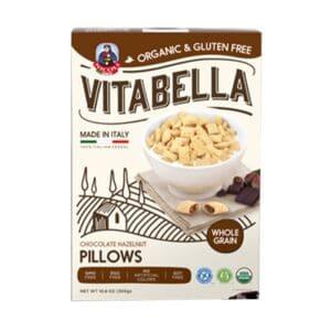 Vita Bella Organic Cereal Choco-Nut Pillows