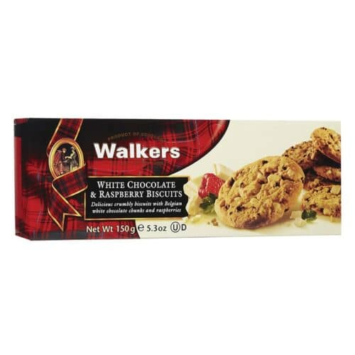 Walkers White Chocolate & Raspberry (