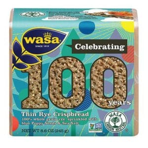 Wasa Thin Rye Poppyseed