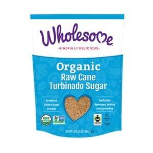 Wholesome Sweeteners Organic Raw Cane Turbinado