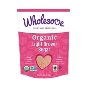 Wholesome Sweeteners Organic Light Brown Sugar