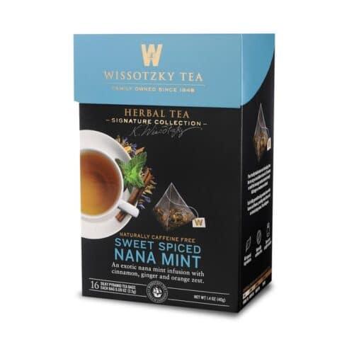 Wissotzky Herbal Tea Sweet Spiced Nana Mint
