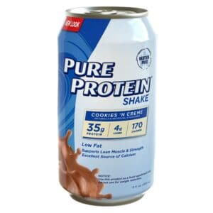 WWS Pure Protein Ultra Shake Cookie & Cream (