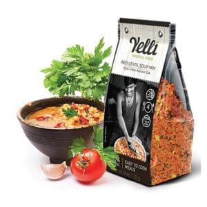 Yelli Red Lentil Soup Mix