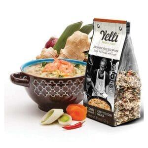 Yelli Thai Congee Jasmine Rice w/Ginger