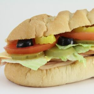 submarine sandwich, sub, subway