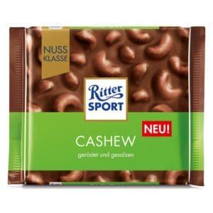 Ritter Sport Milk Chocolate CASHEW