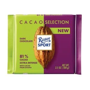 RITTER SPORT CACAO SELECTION 81%EXREA INTENSE